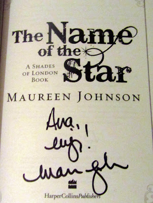 The Name of the Star signed