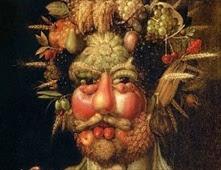 لوحات فنية بأستخدام الفواكه والخضار