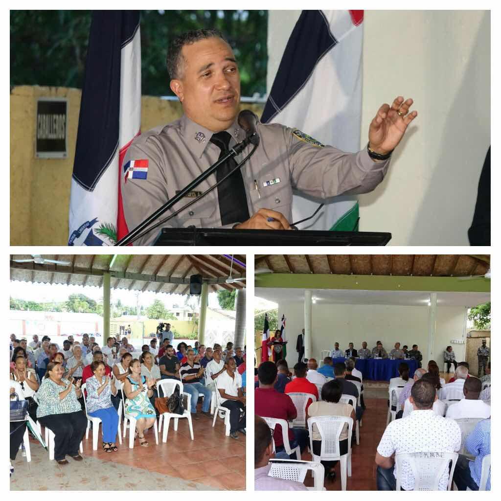 Director Policía Nacional pide a ciudadanos a mantener las querellas que presenten contra transgresores de la ley