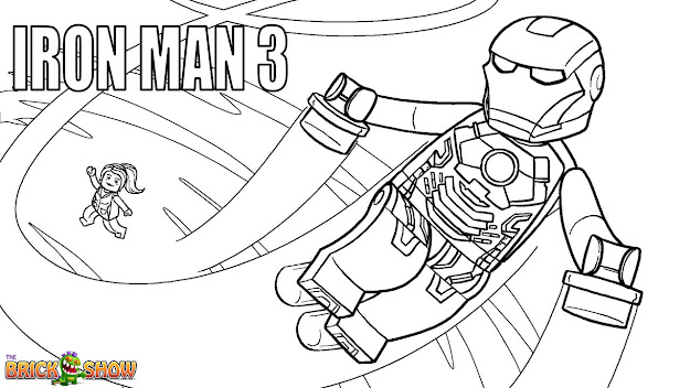 Lego Marvel Super Heroes Coloring Pages Free Printable