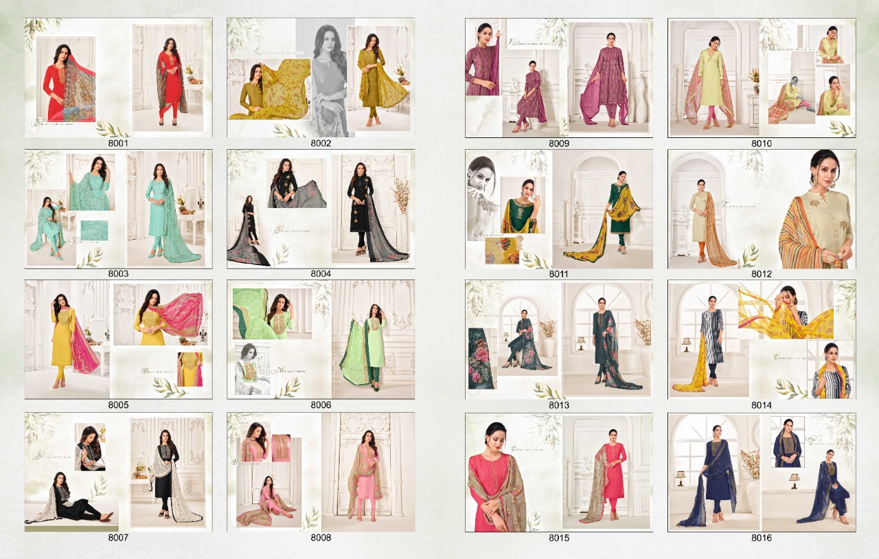 ANGROOP DAIRY MILK VOL 32 DRESS MATERIAL WHOLESALE