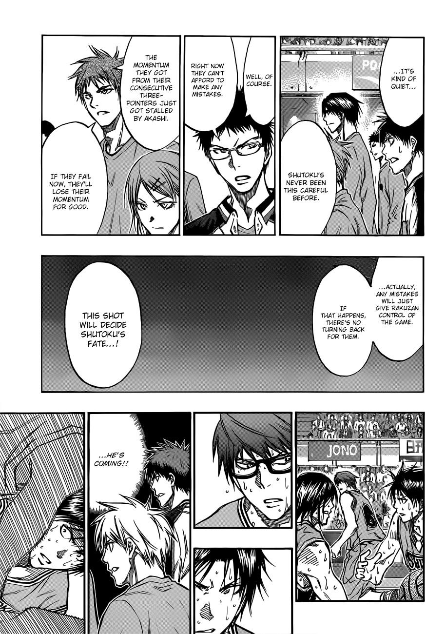 Kuroko no Basket Manga Chapter 182 - Image 03