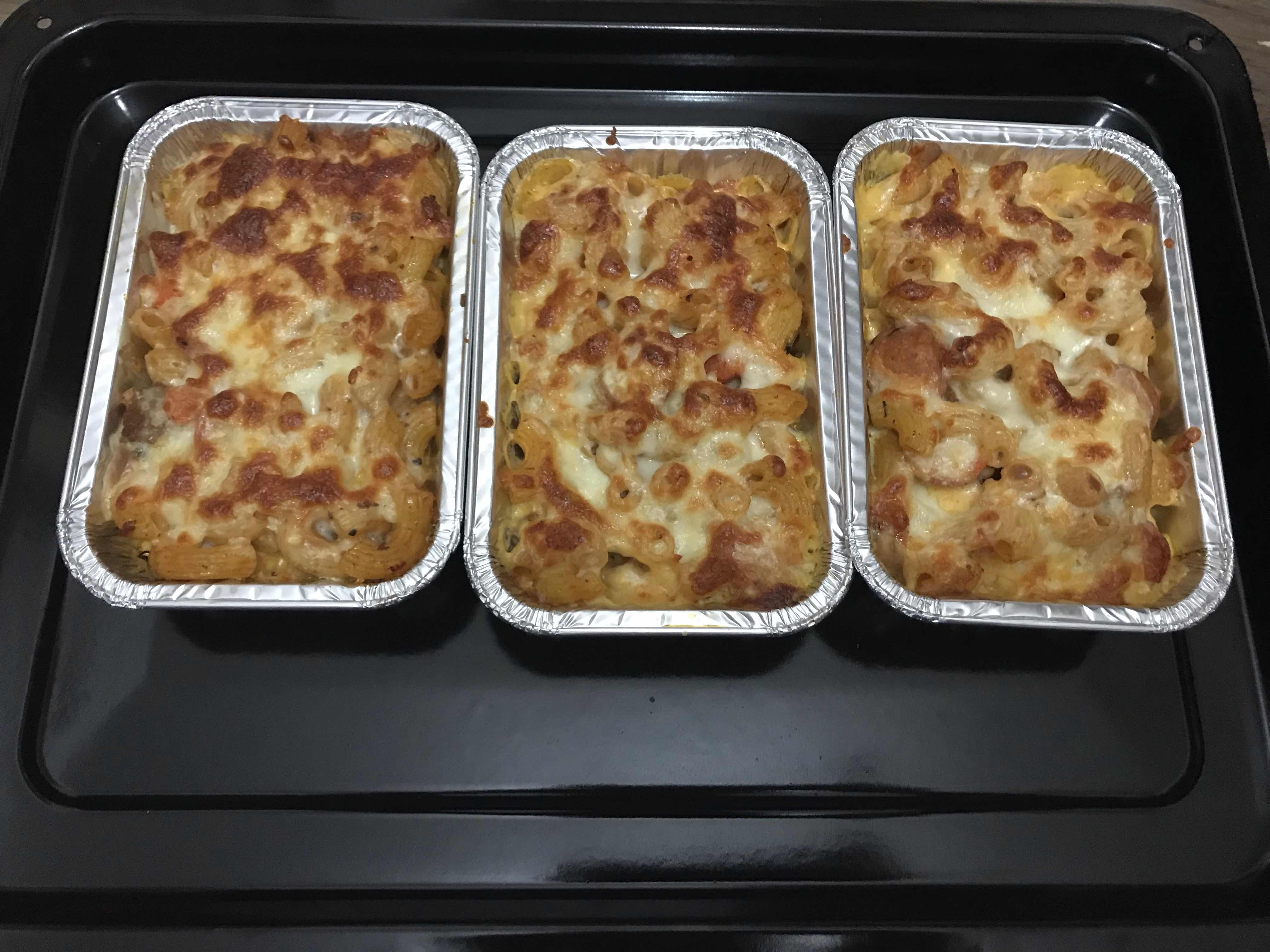Macaroni Bakar : Bekal Hari ini