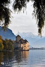 Photo: Château de Chillon on Lake Geneva, Switzerland