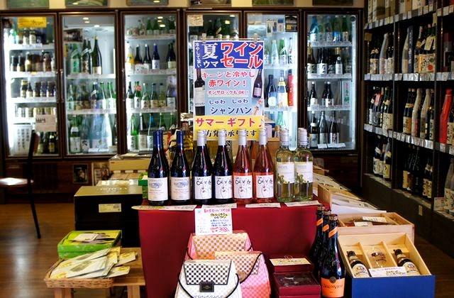 夏ワインコーナー