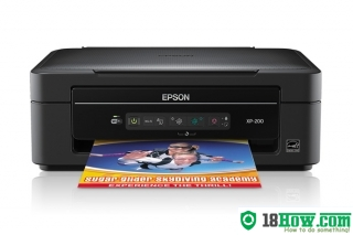 How to Reset Epson XP-20 flashing lights problem