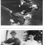 Emmett Guill Hagar & Nova Zembla Jenkins Hagar and dau Pauline, 1912 & 1914