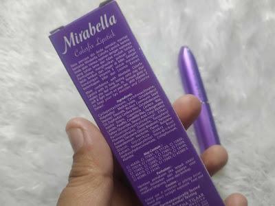 Kandungan mirabella colorfix lipstick