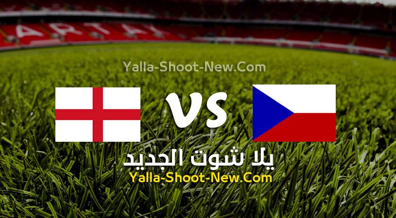 مباراة إنجلترا وجمهورية التشيك