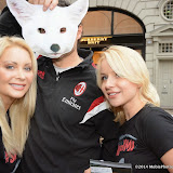 WWW.ENTSIMAGES.COM -    K9 Angels Pola Pospieszalska, Roberto Pless-Paratcha and  Victoria Eisermann    at  Save Kimi hits London -  Animal lovers protest at Burberry store London October 24th 2014FOUR PAWS submits over 200,000 votes of protest to the British fashion label.FOUR PAWS is an international animal welfare organisation making a stand against the cruelty of the fur animal industry.                                                Photo Mobis Photos/OIC 0203 174 1069