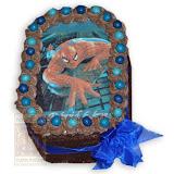 9. kép: Fényképes torták - Pókember fényképes torta