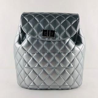 *SALE* Designinverso Silver Backpack