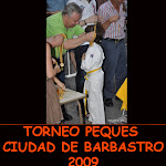 TROFEO CIUDAD DE BARBASTRO (PEQUES) 2009