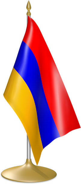 Armenian table flags - desk flags