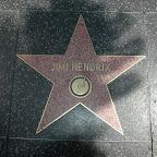 Jimi Hendrix op de Walk of Fame