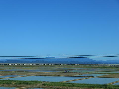 名鉄バス「名古屋~新潟線」 2607 車窓 その1