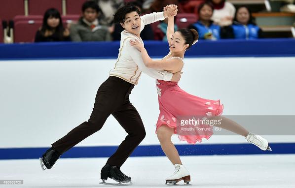 Maia and Alex Shibutani nhk 2015