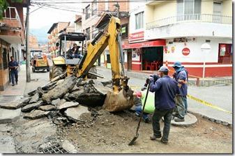 pavimentacion calles copacabana