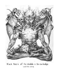 Cover of Anonymous's Book Black Book of Forbidden Knowledge Lucid Dreaming