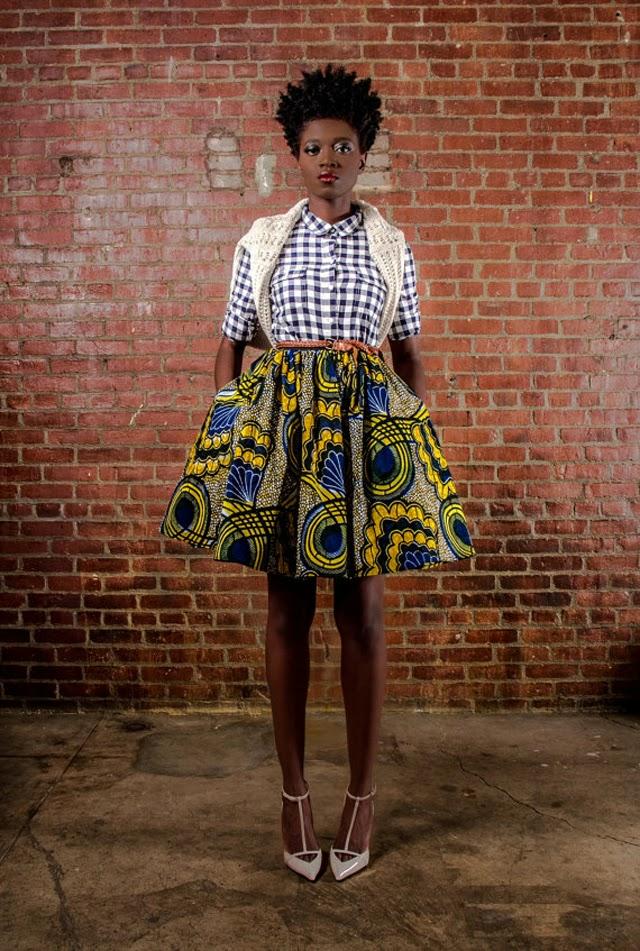LATEST SKIRT DESIGNS FOR SOUTH AFRICAN WOMEN LIKE K U F U N G A 3