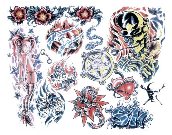 Design Of Weird Tattoo, Fantasy Tattoo Designs