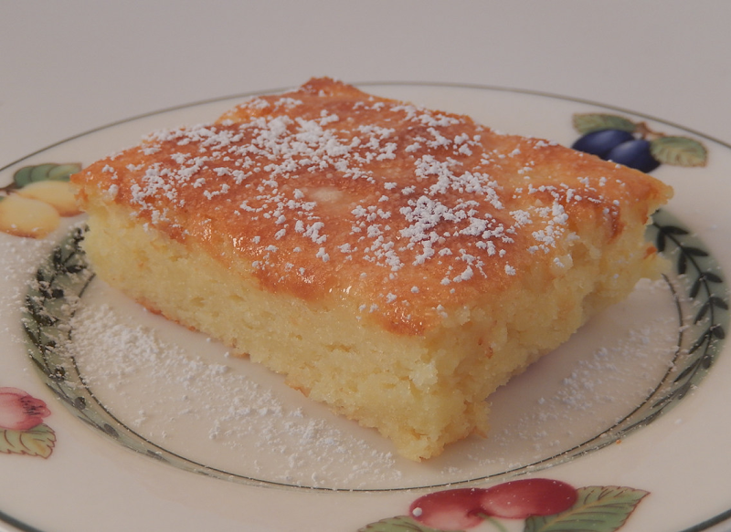 Three Ingredient Lemon Angel Food Cake Bars