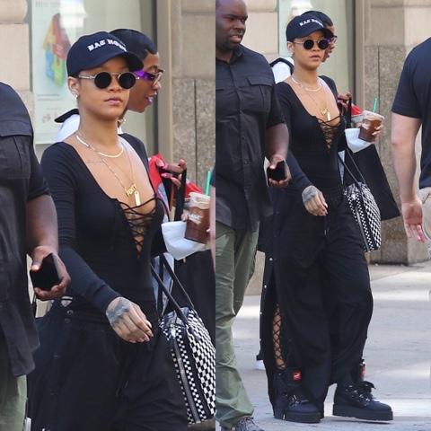 Rihanna wears FENTY x PUMA