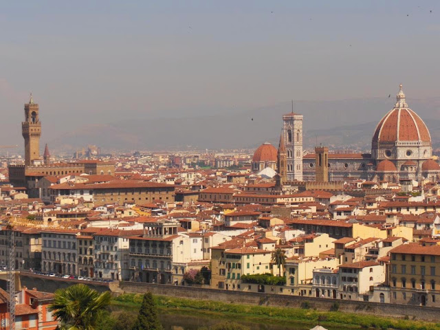 Panorámica de Florencia desde la Piazzale Michelangelo
