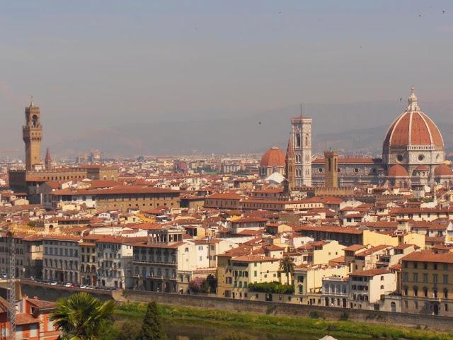 Vistas desde Piazzale Michelangelo