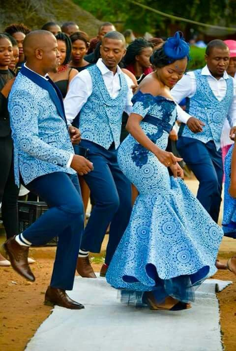 African Traditional Wedding Dresses South Africa 4
