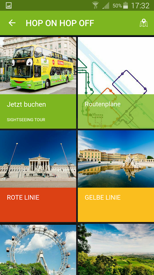 VIENNA SIGHTSEEING & PASS – Screenshot