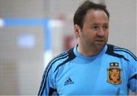 El entrenador y el arbitraje. Fede Vidal (2º Entrenador de la Selección Española de Fútbol Sala).