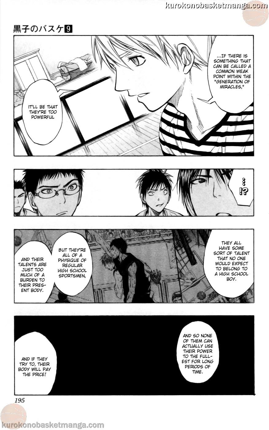 Kuroko no Basket Manga Chapter 80 - Image 09