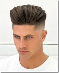 Javithebarber high textured pompadour fade haircut body shaper texture putty