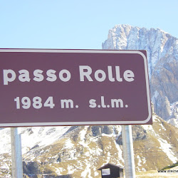 Motorrad Pass Rollepass Passo Rolle