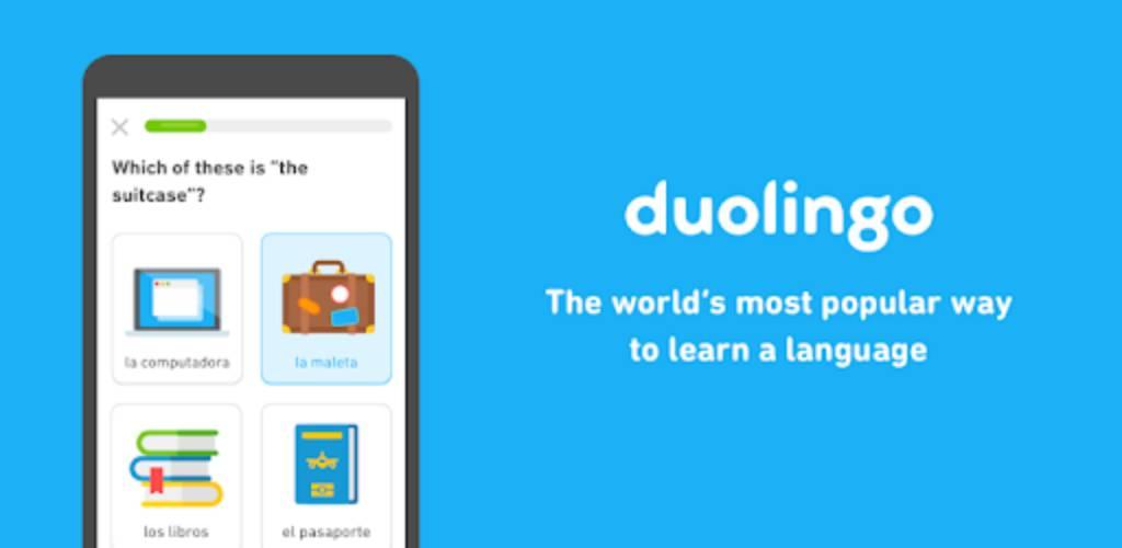 تحميل برنامج Duolingo Plus مهكر للاندرويد آخر اصدار