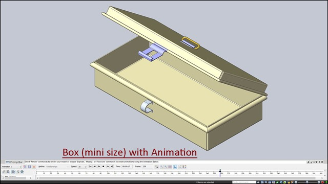 Box (mini size) with Animation