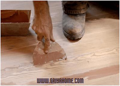 dempul lantai kayu