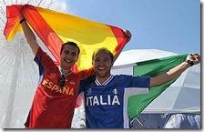 Uno spagnolo e un italiano