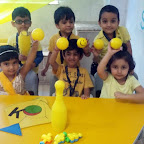 Yellow Colour Day (Jr.KG.) 3-8-2015