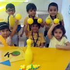 Yellow Colour Day (Jr.KG.) 3-8-2015