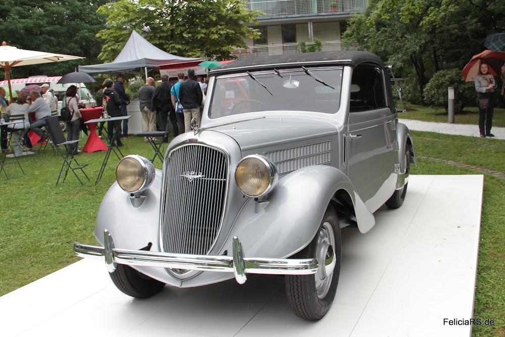 Škoda Rapid Cabrio de Luxe 1937 der Wagen erreichte 100Km/h