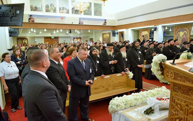 His Holiness Pope Tawadros II visit to St. Mark LA - DSC_0165.JPG