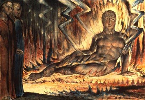 Dante Inferno By William Blake, William Blake