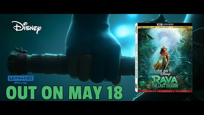 Raya and the Last Dragon 4K Ultra HD Blu-ray out May 18!