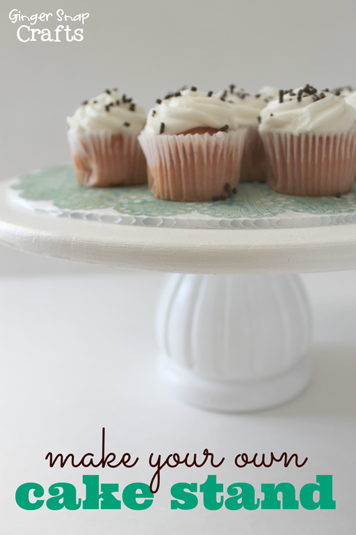 make your own cake stand with #DecoArt at GingerSnapCrafts.com #spon_thumb[3]