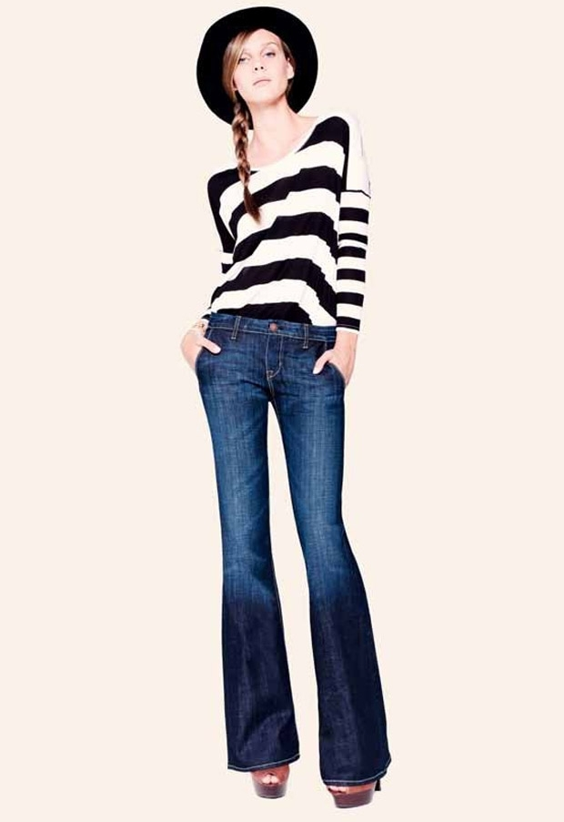 The modern inspiration: spring 2011 clothing trends   stripes ...