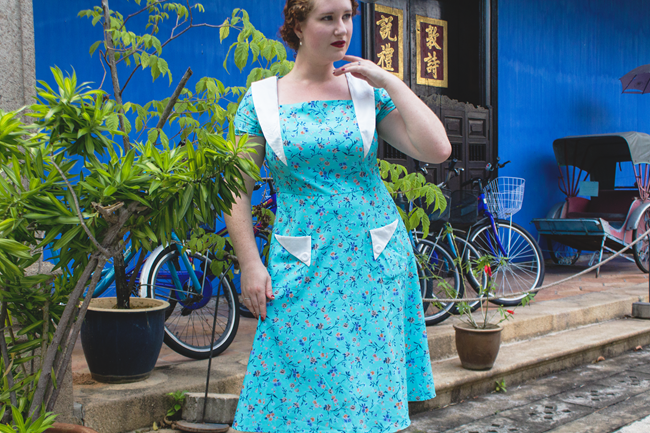 Vintage 1940's summer looks for traveling | Lavender & Twill