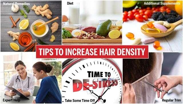 طرق بسيطة لزيادة كثافة الشعر