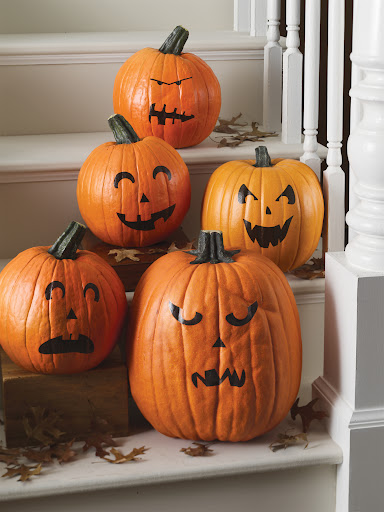 Pumpkin transfers (you get 2 sets!)